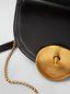 Marni MONILE bag in black leather  Woman - 4