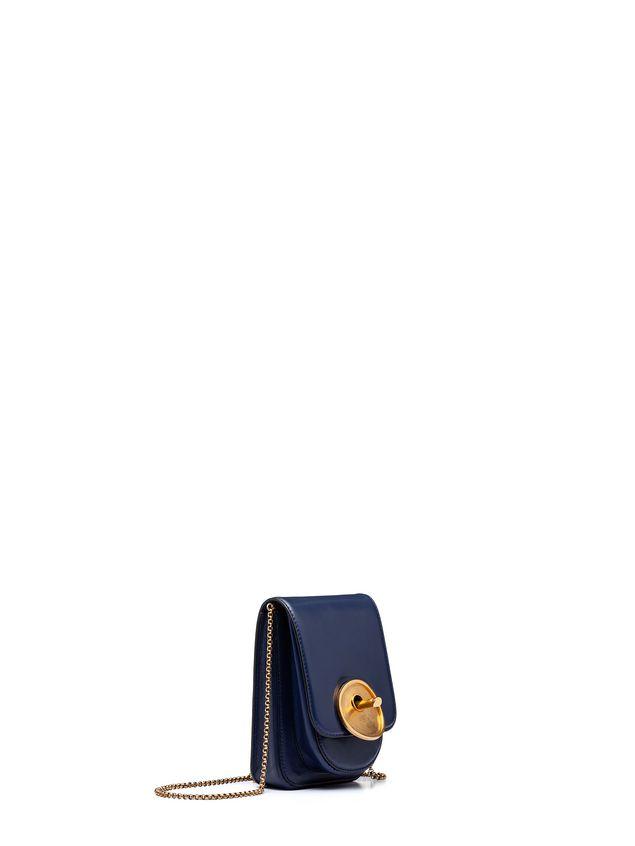 Marni MONILE bag in blue calfskin Woman - 2