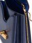 Marni MONILE bag in blue calfskin Woman - 4