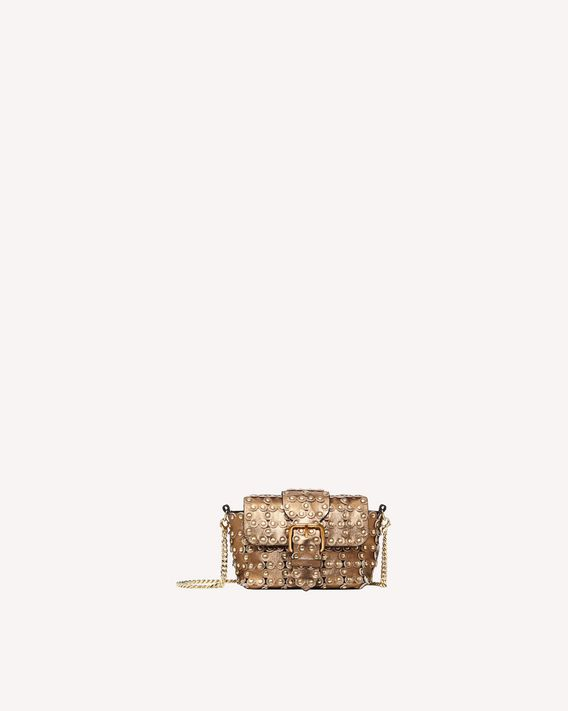 REDValentino FLOWER PUZZLE CROSS BODY BAG
