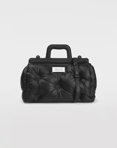 MAISON MARGIELA Sac à main Femme Sac « Boston » gaufré f