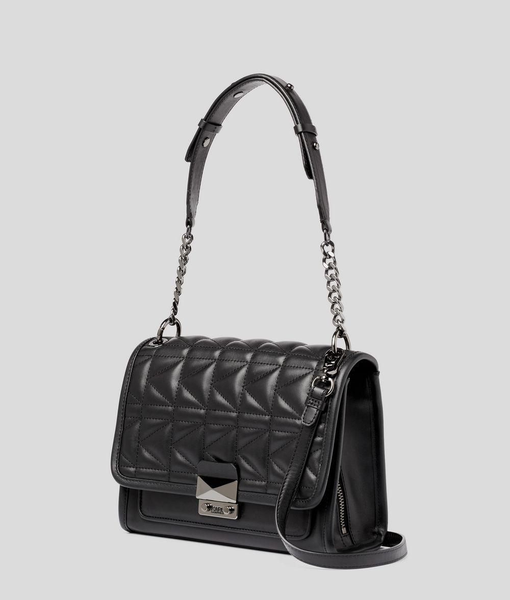 KARL LAGERFELD K/Kuilted Leather Handbag Handbag Woman d