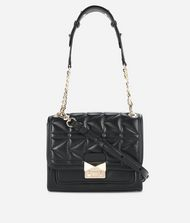 KARL LAGERFELD K/Kuilted Leather Mini Handbag  9_f