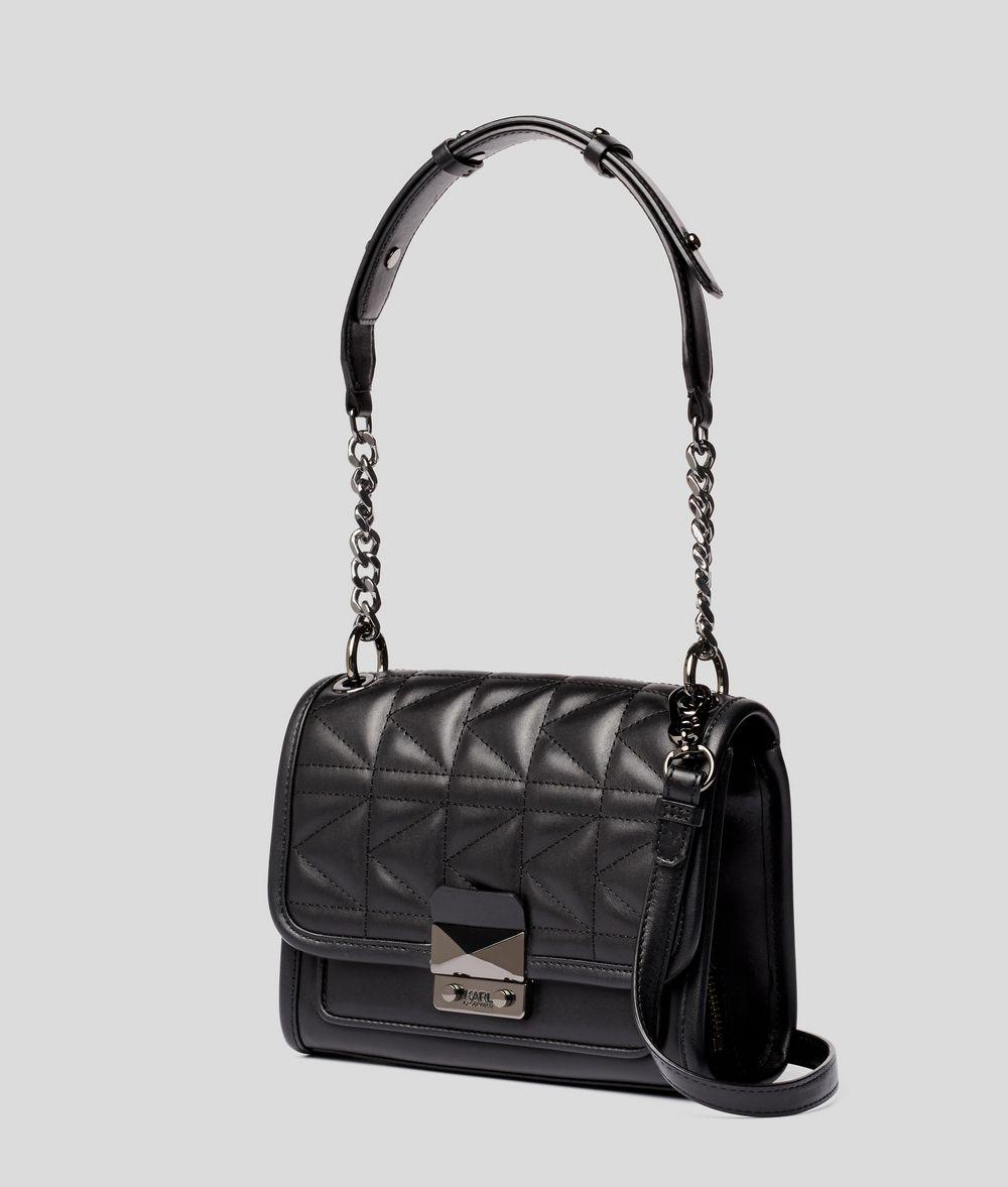 KARL LAGERFELD K/Kuilted mini-sac à main en cuir Sac à main Femme d