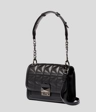KARL LAGERFELD K/Kuilted mini-sac à main en cuir  9_f