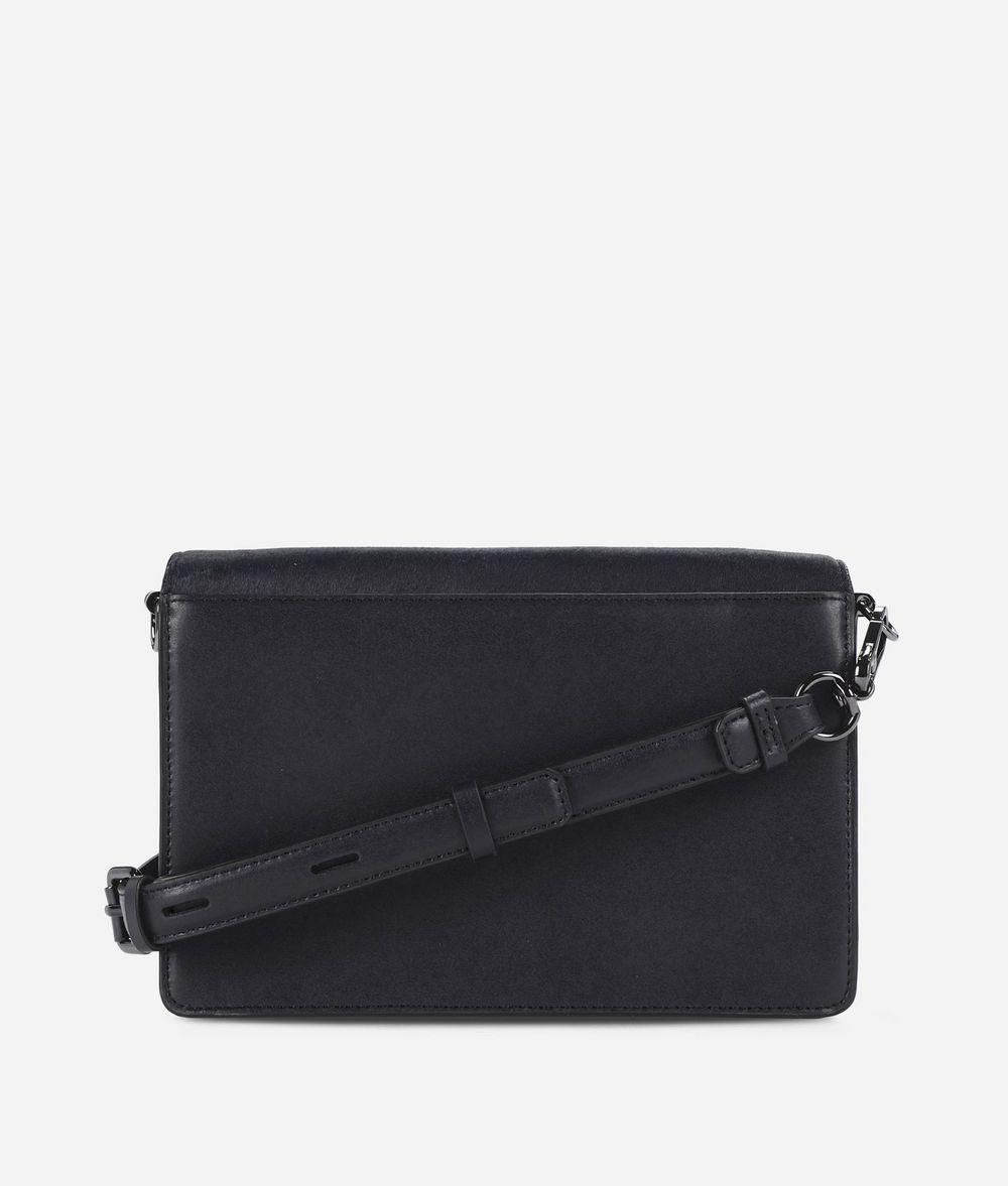 KARL LAGERFELD K/Signature Luxe Leather Shoulder Bag Handbag Woman d
