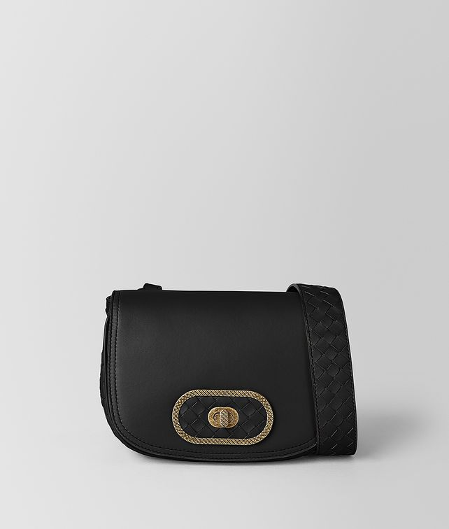 BOTTEGA VENETA NERO BV LUNA  Crossbody and Belt Bags [*** pickupInStoreShipping_info ***] fp