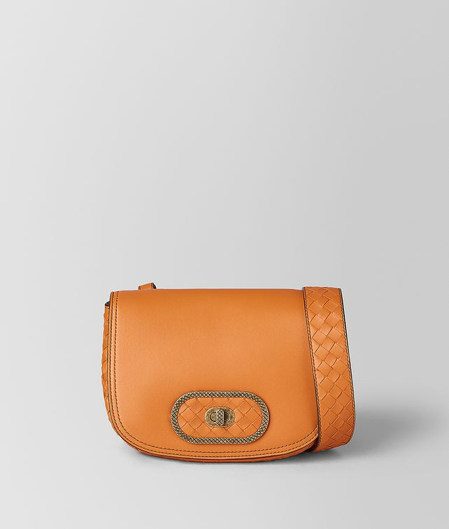 BOTTEGA VENETA ORANGE BV LUNA   Crossbody and Belt Bags [*** pickupInStoreShipping_info ***] fp