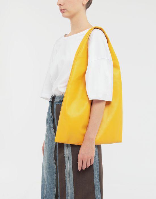 MAISON MARGIELA Leather shopping bag Tote [*** pickupInStoreShipping_info ***] b