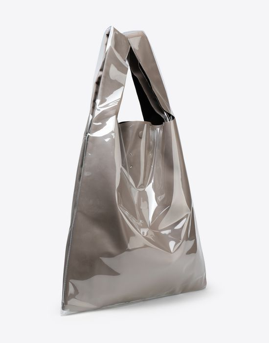 MAISON MARGIELA PVC coated leather shopper Tote [*** pickupInStoreShippingNotGuaranteed_info ***] r