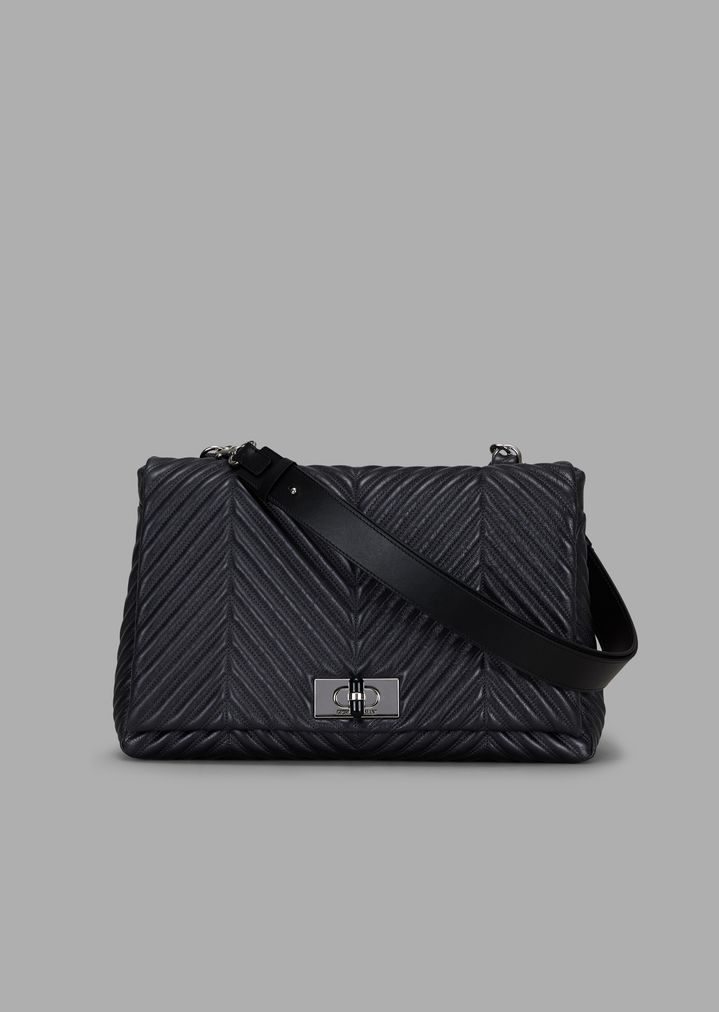 b4c9c2a67a4d Shoulder bag in pleated