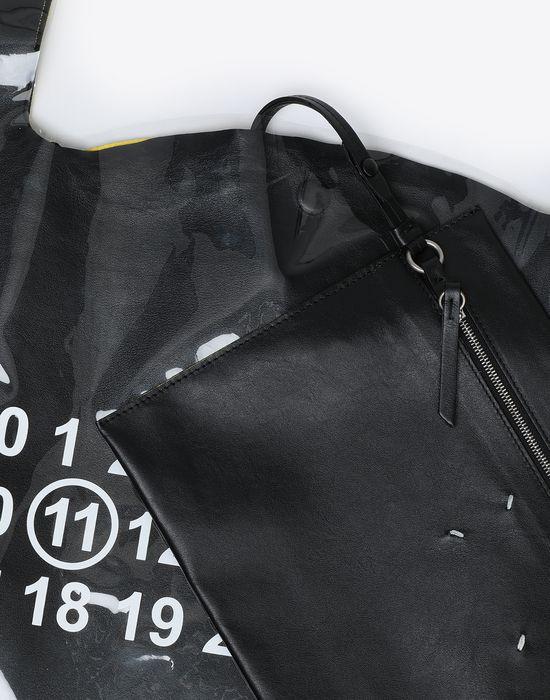 MAISON MARGIELA PVC coated leather shopper Tote [*** pickupInStoreShippingNotGuaranteed_info ***] e
