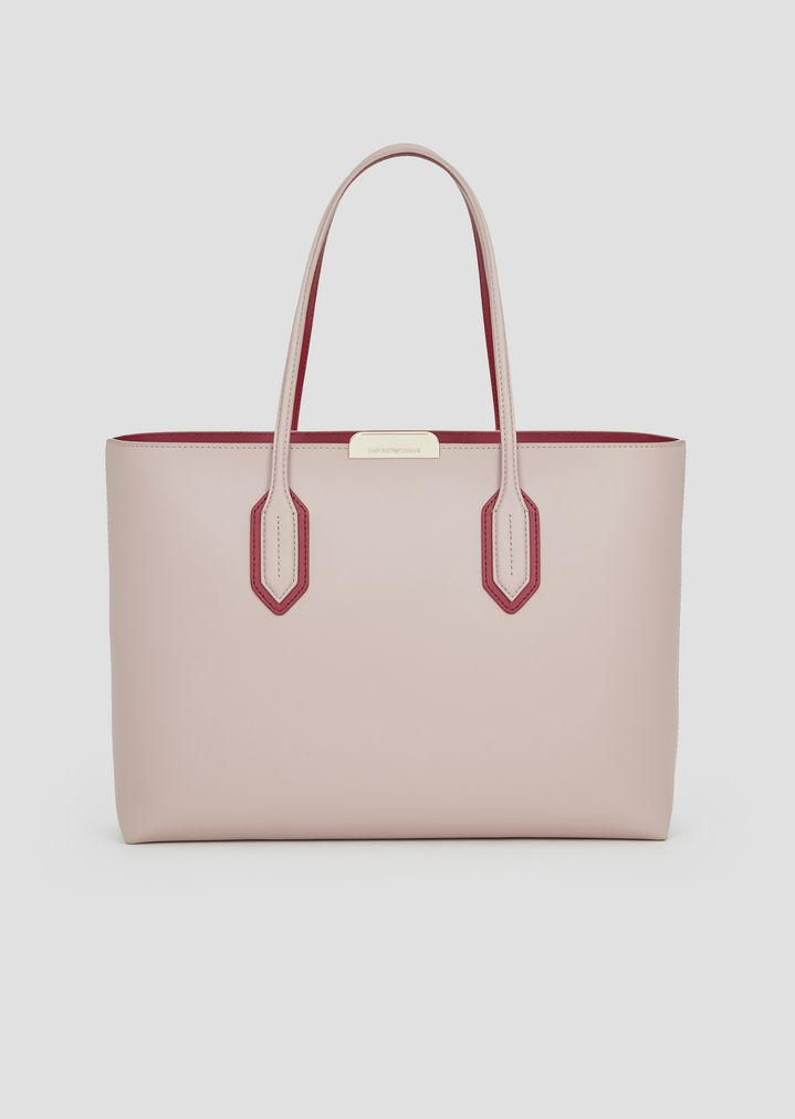 15a3ace428d0 Tote bag with metal logo detail
