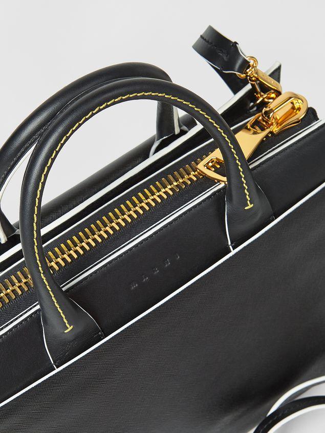 Marni LAW bag in calfskin black Woman - 4