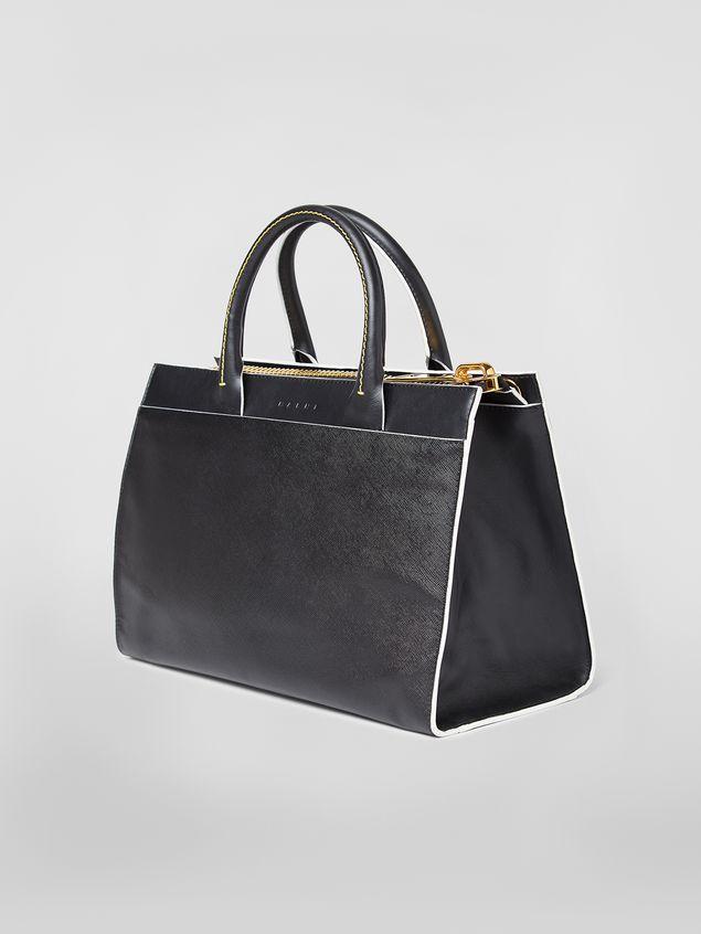 Marni LAW bag in calfskin black Woman - 3