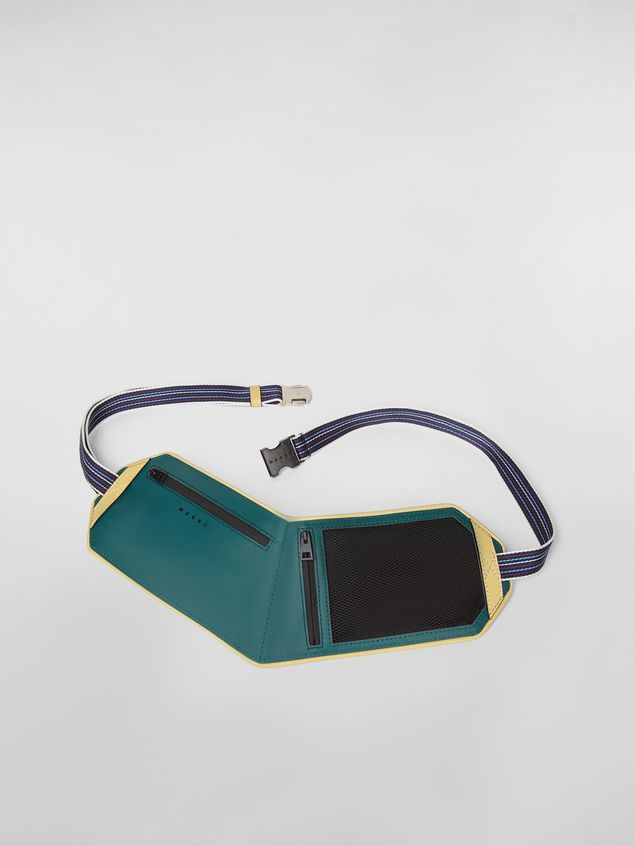 Marni Belt bag in techno net Man