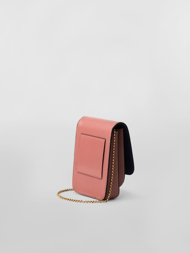 Marni MONILE bag in pink leather  Woman - 3
