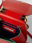 Marni SADDLE bag in red leather Woman - 4