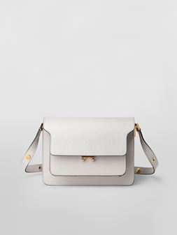 Marni TRUNK bag in saffiano leather  Woman