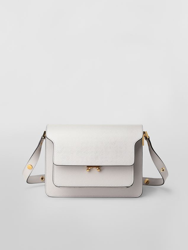 Marni TRUNK bag in saffiano leather  Woman - 1