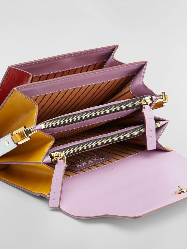 Marni TRUNK bag in three-colored calfskin Woman - 4