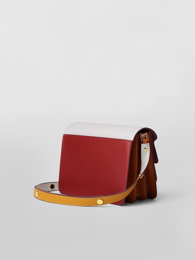Marni TRUNK bag in three-colored calfskin Woman - 3