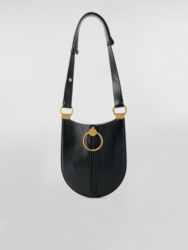 Marni EARRING bag in leather Woman - 1