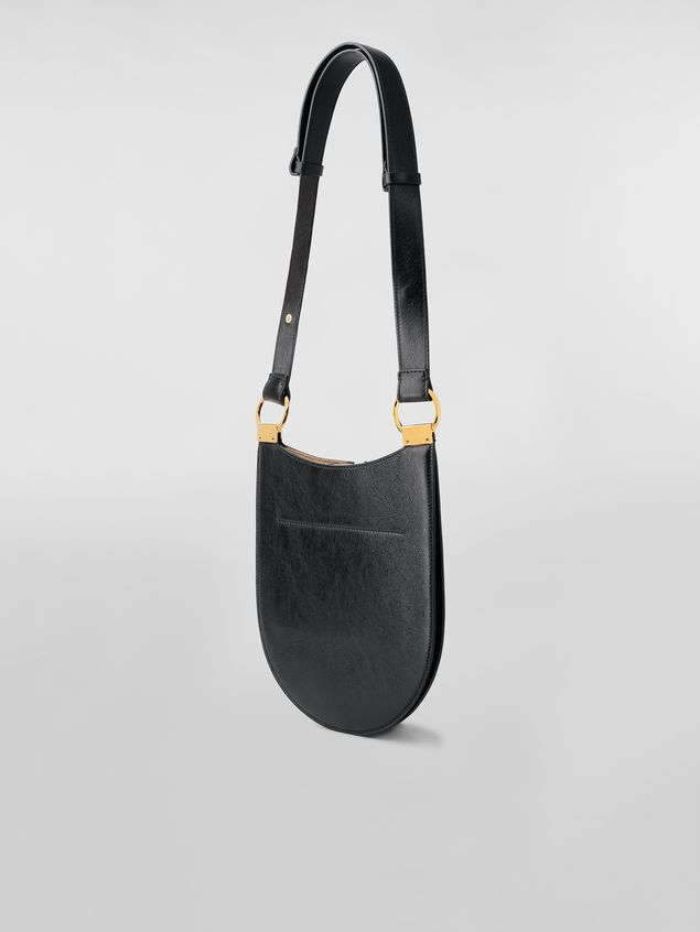 Marni EARRING bag in leather Woman - 3