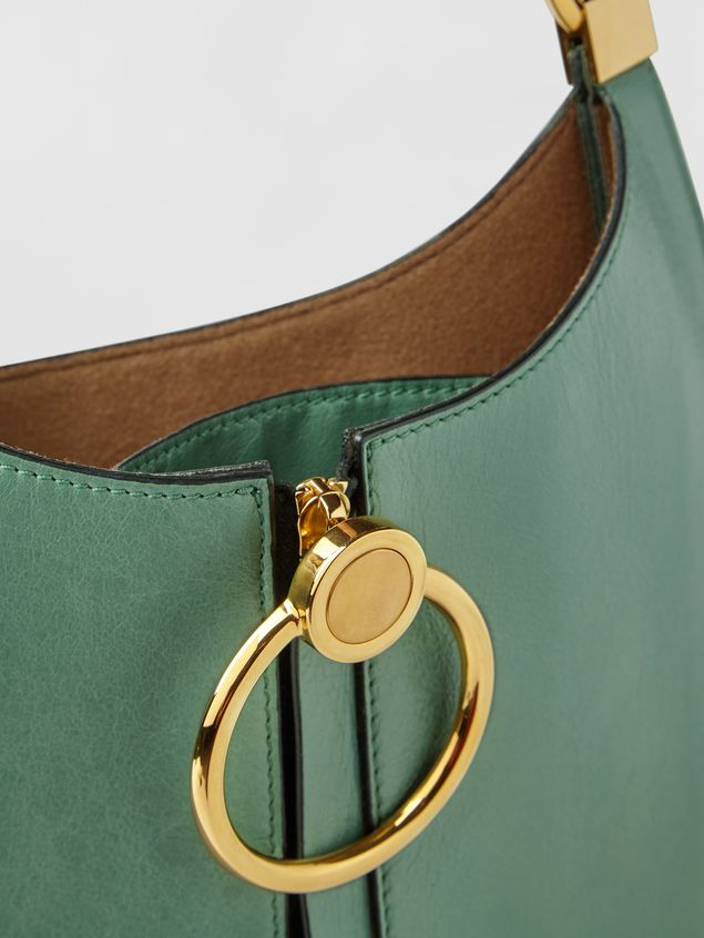 Marni EARRING bag in leather Woman - 5