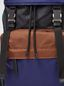 Marni Backpack in nylon brown green black and blue Man - 5