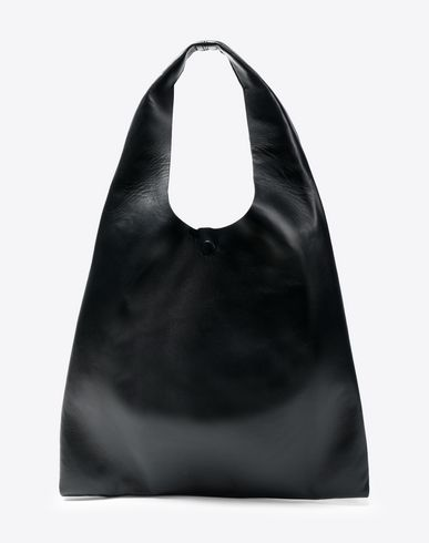 MAISON MARGIELA Leather shopper Tote Woman f