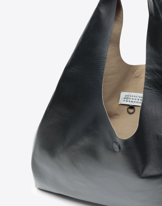 MAISON MARGIELA Leather shopping bag Tote [*** pickupInStoreShipping_info ***] a