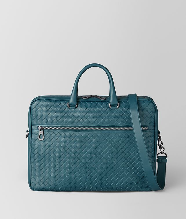 BOTTEGA VENETA SMALL BRIEFCASE IN INTRECCIATO VN Business bag Woman fp