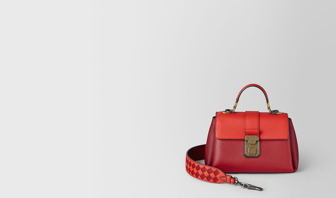 mini piazza bag in multicolour nappa  landing