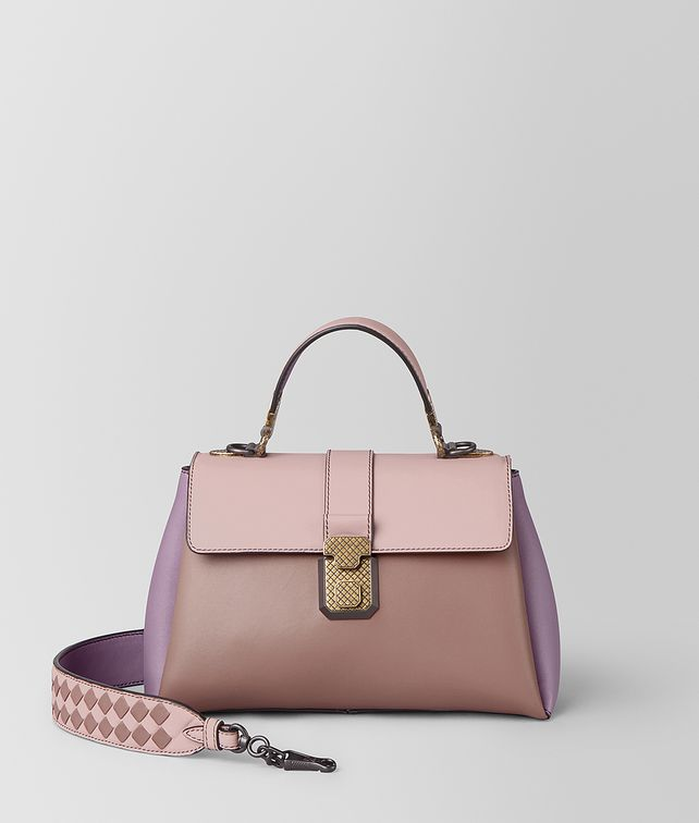 BOTTEGA VENETA BORSA PIAZZA PICCOLA IN NAPPA MULTICOLOR Borsa a Mano [*** pickupInStoreShipping_info ***] fp