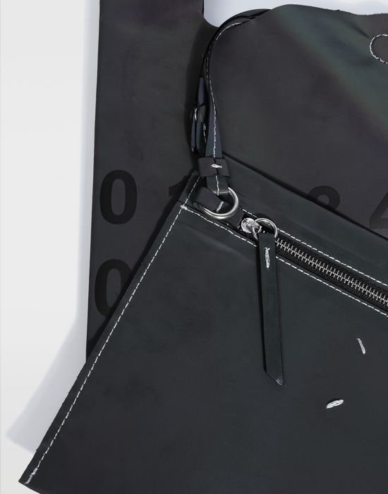 MAISON MARGIELA Reflective leather shopper Tote [*** pickupInStoreShipping_info ***] d