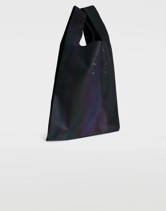 MAISON MARGIELA Reflective leather shopper Tote [*** pickupInStoreShipping_info ***] r