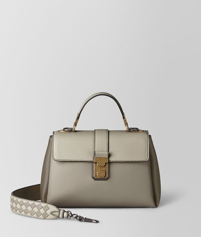 BOTTEGA VENETA SMALL PIAZZA BAG IN MULTICOLOR NAPPA Top Handle Bag [*** pickupInStoreShipping_info ***] fp