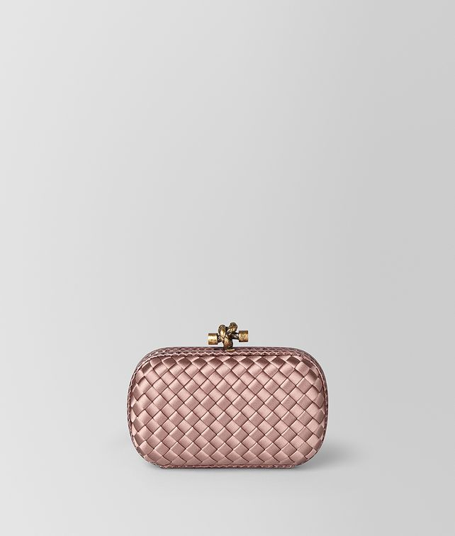 BOTTEGA VENETA KNOT IN INTRECCIATO IMPERO Clutch [*** pickupInStoreShipping_info ***] fp