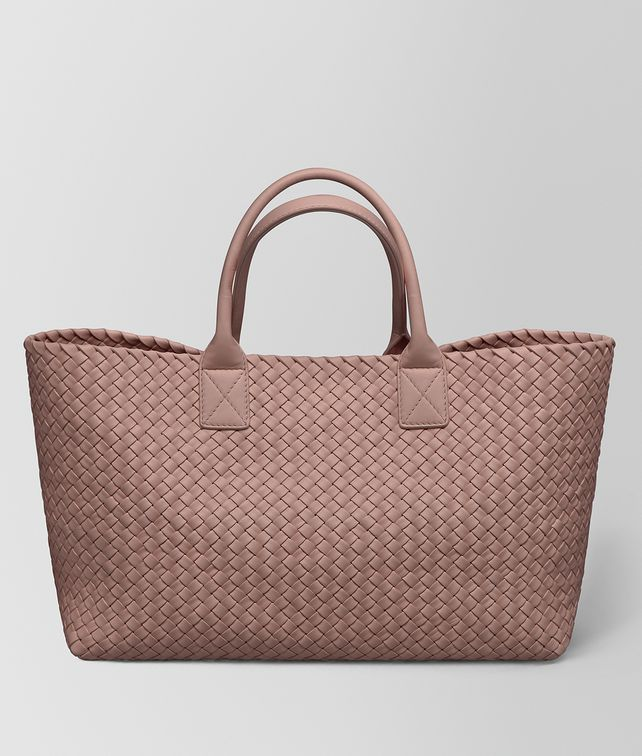BOTTEGA VENETA CABAT IN INTRECCIATO NAPPA Borsa Shopping [*** pickupInStoreShipping_info ***] fp