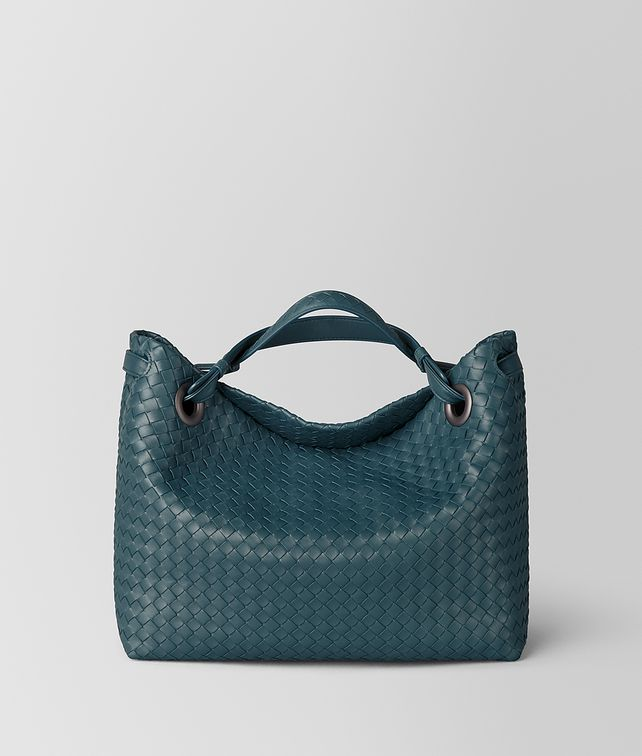 BOTTEGA VENETA LARGE GARDA BAG IN INTRECCIATO NAPPA Shoulder Bag Woman fp