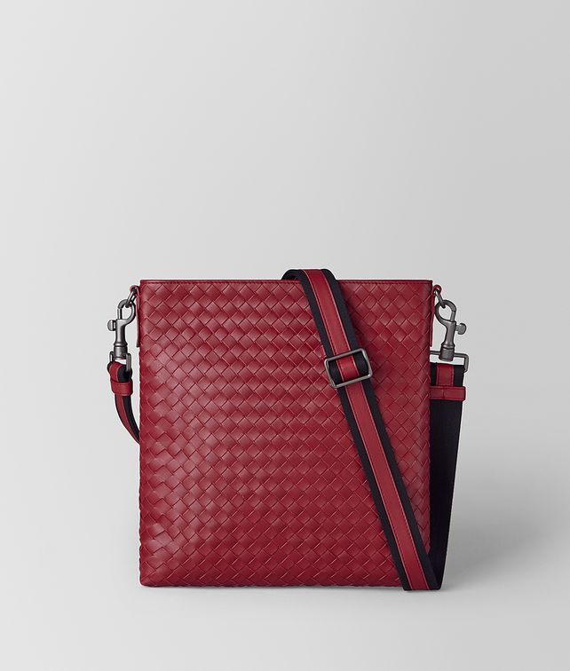 BOTTEGA VENETA SMALL MESSENGER IN INTRECCIATO VN Messenger Bag [*** pickupInStoreShippingNotGuaranteed_info ***] fp