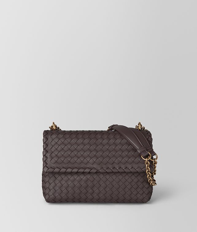 BOTTEGA VENETA BORSA OLIMPIA PICCOLA IN INTRECCIATO NAPPA Shoulder Bag [*** pickupInStoreShipping_info ***] fp