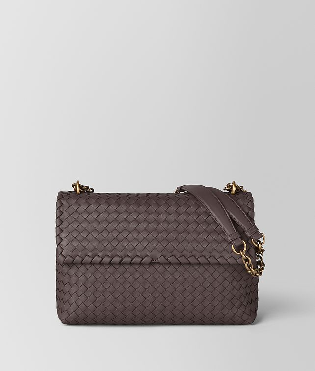 BOTTEGA VENETA LARGE OLIMPIA BAG IN INTRECCIATO NAPPA Shoulder Bag Woman fp