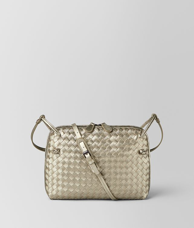 BOTTEGA VENETA NODINI BAG IN INTRECCIATO GROSGRAIN Crossbody bag [*** pickupInStoreShipping_info ***] fp