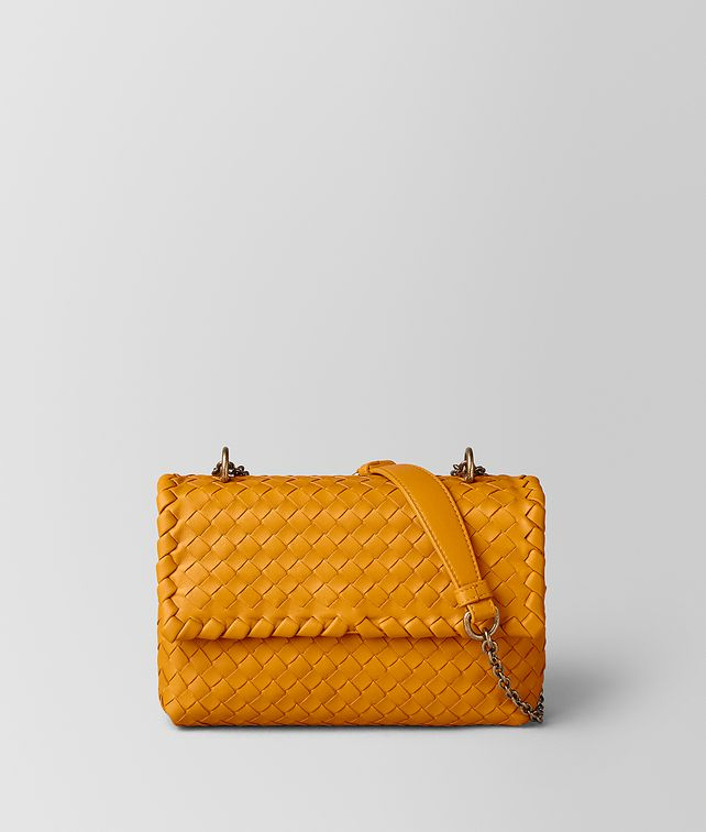 BOTTEGA VENETA BABY OLIMPIA BAG IN INTRECCIATO NAPPA Shoulder Bag [*** pickupInStoreShipping_info ***] fp
