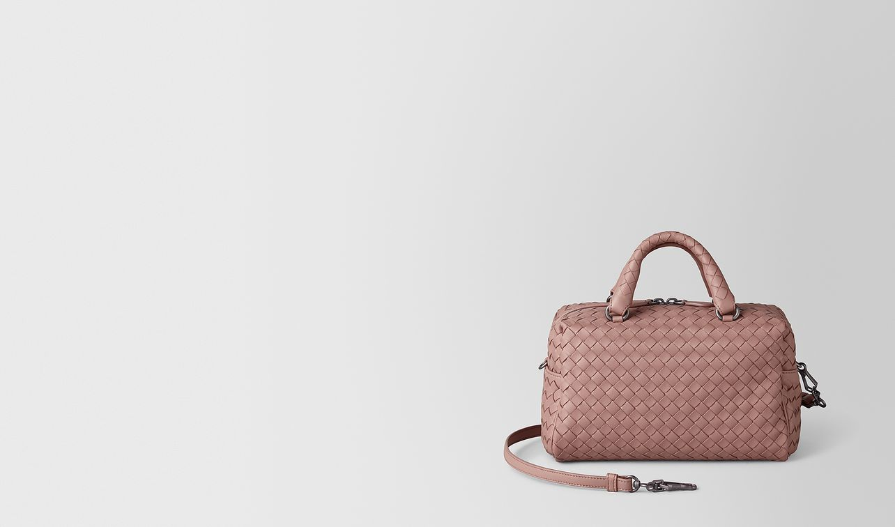 mini top-handle bag in intrecciato nappa  landing
