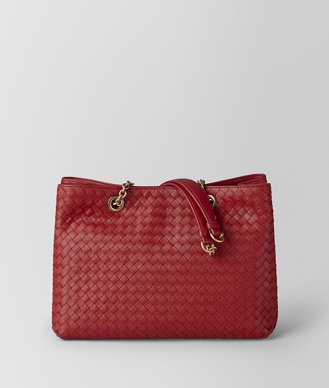BOTTEGA VENETA SMALL TOTE IN INTRECCIATO NAPPA Tote Bag Woman fp