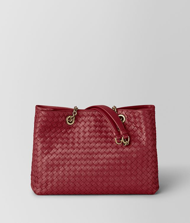 BOTTEGA VENETA TOTE PICCOLA IN INTRECCIATO NAPPA Borsa Shopping [*** pickupInStoreShipping_info ***] fp