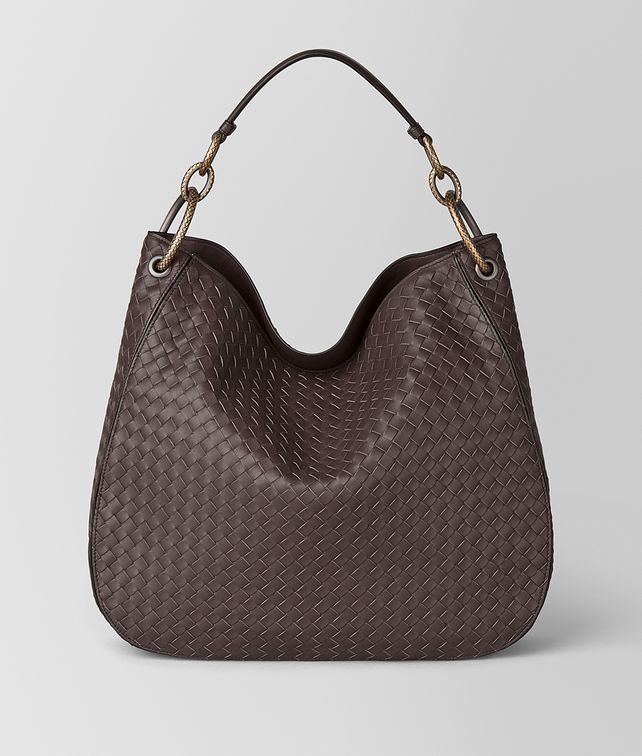 BOTTEGA VENETA BORSA LOOP MEDIA IN INTRECCIATO NAPPA Borsa hobo [*** pickupInStoreShipping_info ***] fp
